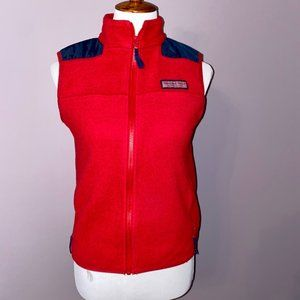 Vineyard Vines | Mens Jetty red/ navy vest